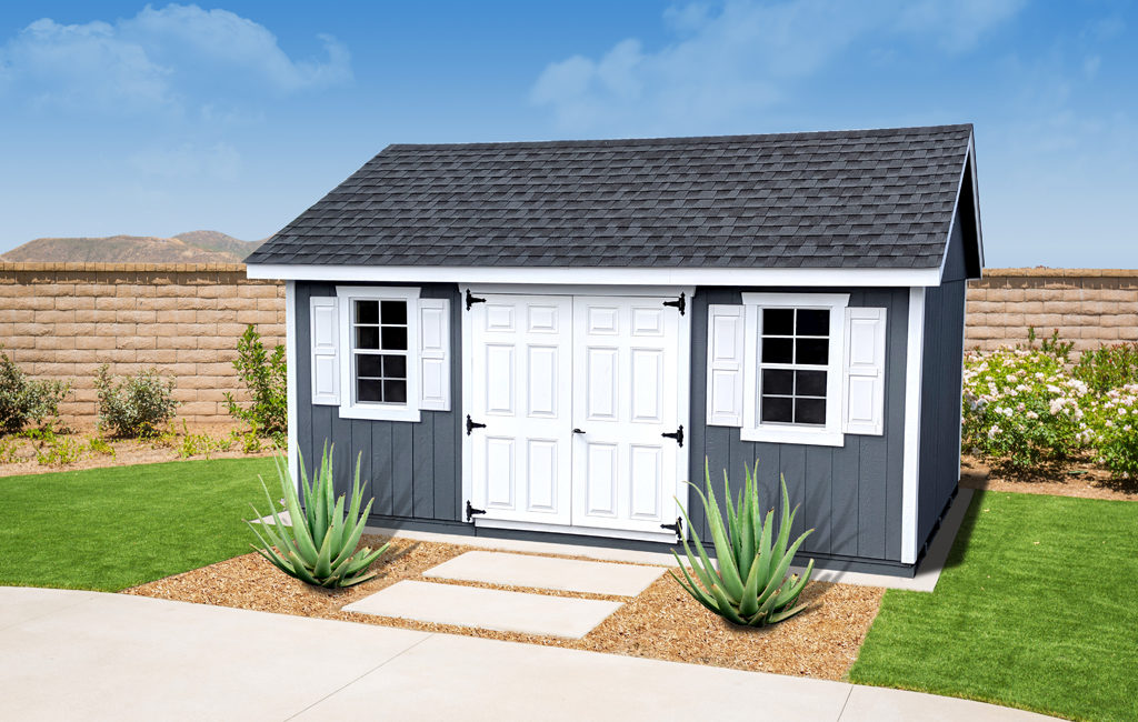 do it yourself storage sheds kits